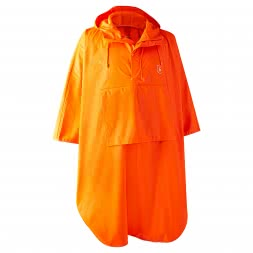 Deerhunter Men's rain poncho Hurricane (orange)