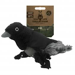 Dog Toy Wild Life Collection Raven