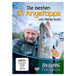 """DVD """"Die besten 55 Angeltipps von Matze Koch"""""""