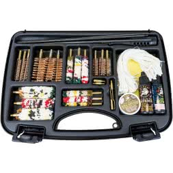 Eurohunt cleaning set in case (32 pieces)
