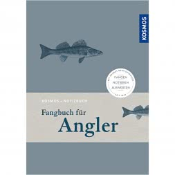 Fangbuch / Notizbuch für Angler von Kosmos