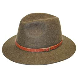Faustmann Unisex Hunting and Leisure Hat MONTANA (brown)