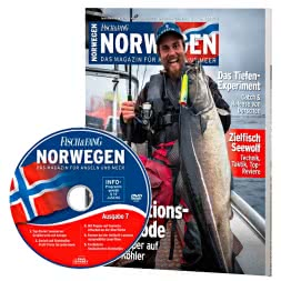 """Fisch und Fang"" (Fish and catch) Norway Magazine - Edition 7"