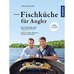 """Fischküche für Angler"" (Fish cooking for anglers) by Jörg Strehlow"