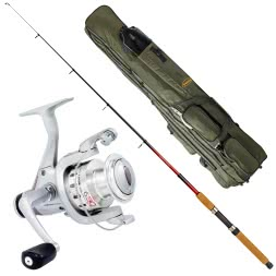 Fishing Set: Rod, Reel + Holdall