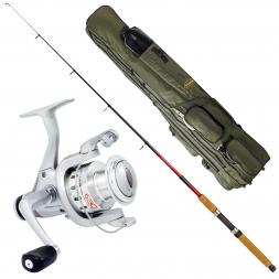 Fishing Set: Rod, Reel + Holdall