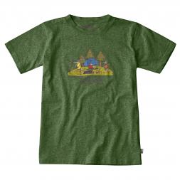 Fjäll Räven Kids T-Shirt Camping Foxer
