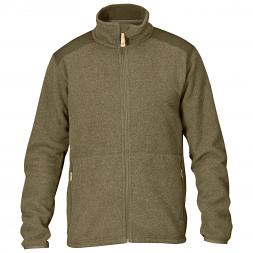 Fjäll Räven Men's Outdoor Jacket Sten Fleece (dark olive)