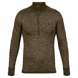 Fjäll Räven Men's Sweater Värmland Woolyterry Half Zip M