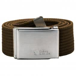 Fjäll Räven Unisex Belt CANVAS (Dark Olive)