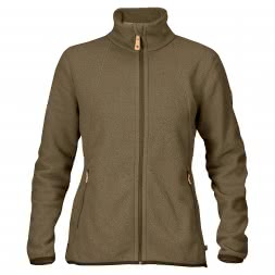 Fjäll Räven Women's Fleece Jacket Stina (dark olive)