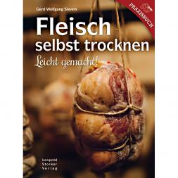 Fleisch selbst trocknen (Gerd Wolfgang Sievers, German Book)