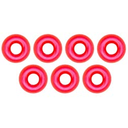 FTM Omura Tungsten beads (round hole, pink)