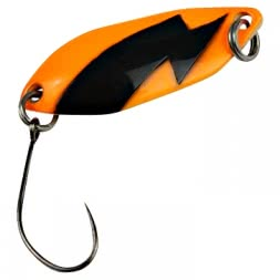 FTM Trout Spoon Spark (2,5 g, Orange/Black UV)