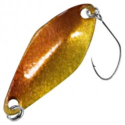FTM Trout Spoon Tremo (2.3 g, Brown/Red, Brown)