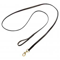 Full Leather Dogs Leash