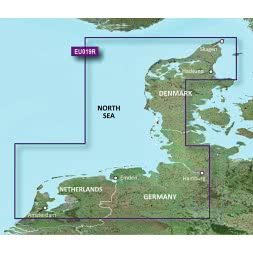 Garmin Map material G2 BC microSD Alborg to Amsterdam