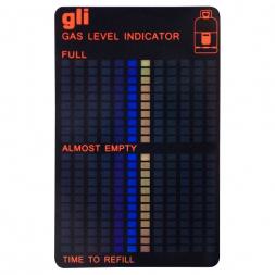 Gas cylinder level indicator
