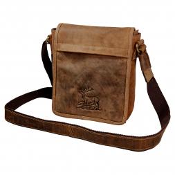 Greenburry Vintage Flapzipt Bag (Leather)