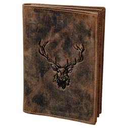 Greenburry Vintage identity card folder ROYAL STAG (Leather)