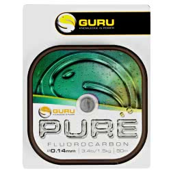 Guru Fishing Line Pure Fluorcarbon (clear, 50 m)