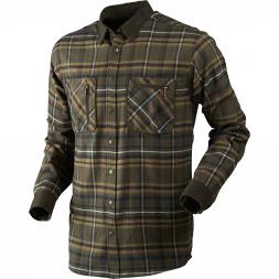 Härkila Men's Hunting Shirt Pajala (willow green/checkered)