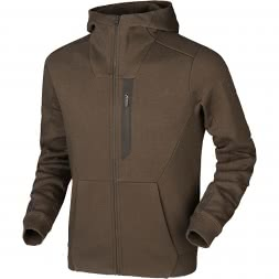 Härkila Men's Sweat Jacket Hoodie (slate brown)