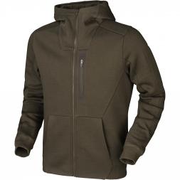 Härkila Men's Sweat Jacket Hoodie (willow green)