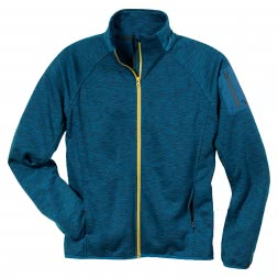 HD-Concept Active Fleece Jacket - blue-mottled