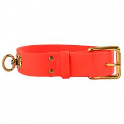 heim Biothane welding collar (orange)