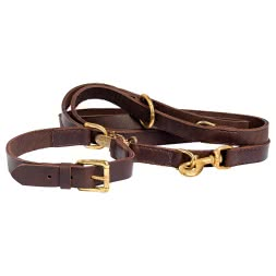 Heim Luxury Soft Leather Neck Collar