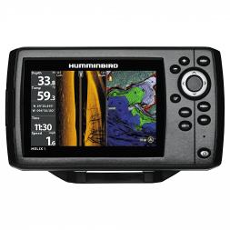 Humminbird Echo Sounder Helix 5 CHIRP SI GPS G2 Side