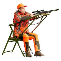 Hunting chair Dachs (Set of 2)
