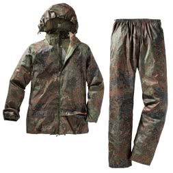 il Lago Basic Men's Rain Suit CAMOU