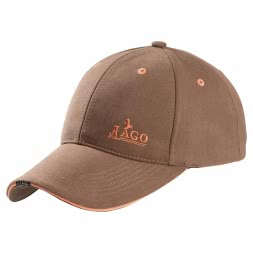 il Lago Basic Unisex Baseball Cap (brown)