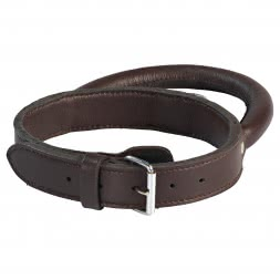 il Lago Leather Dog Collar