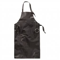 il Lago Passion leather apron BBQ FANATIC