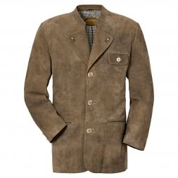 il Lago Prestige Men's Leather Blazer Isar