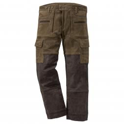 il Lago Prestige men's leather trousers ARNE