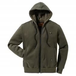 il Lago Red Level Men's Heated Hoodie FEUERLAND