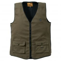 il Lago Red Level Men's Heated Vest FEUERLAND