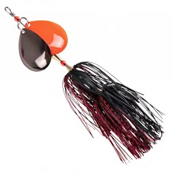 Iron Claw Bucktail Spinner Dizzy Rubber (BR)