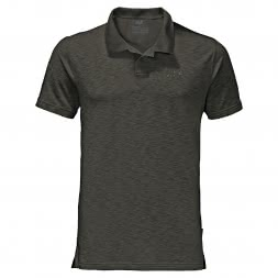 Jack Wolfskin Men's Polo Shirt Travel Polo