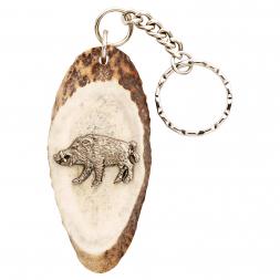 Key Ring Pendant Wild Boar