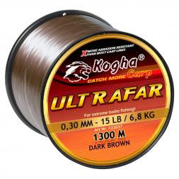 Kogha Fishing Line Carp Ultrafar (brown)