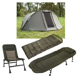 Kogha Tent, Lounger, Chair, Sleeping Bag-Combo EMPEROR