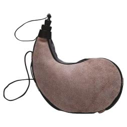 Leather field flask