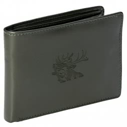 Leather Wallet (Red Stag)
