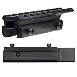 LENSOLUX Adapter Rail 11 mm - 20,5 mm