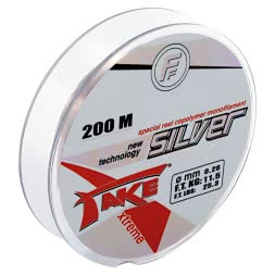 Lineaeffe Fishing Line Take Silver (clear, 200 m)